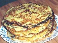 Блины по старинному рецепту – кулинарный рецепт