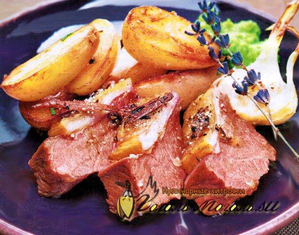 Рецепт приготовления мяса в вине