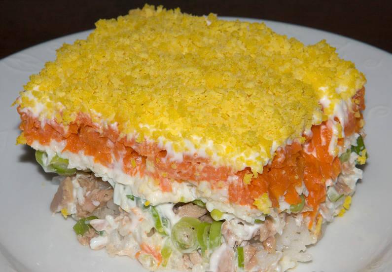 мимоза салат рецепт классический