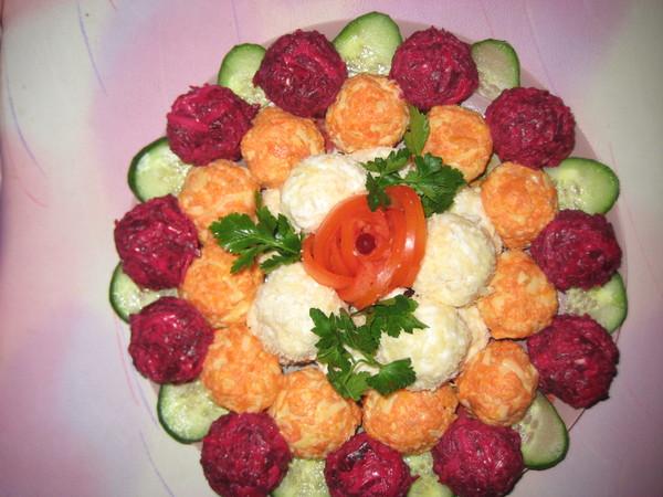 новые салаты и закуски к праздничному столу рецепты с фото
