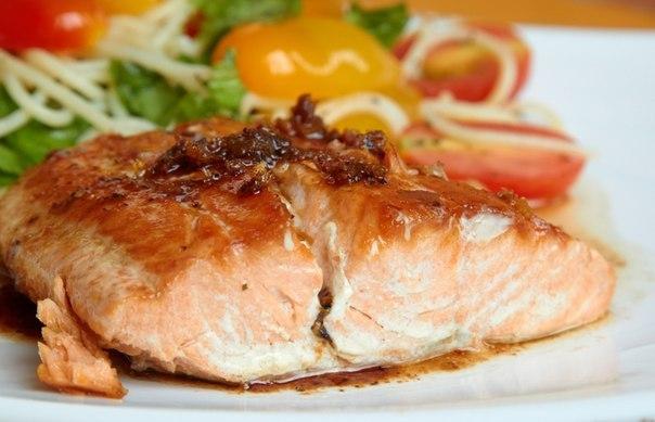рецепт красной рыбы в духовке в пакете