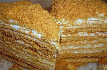 Торт медовик сметанник рецепт с фото