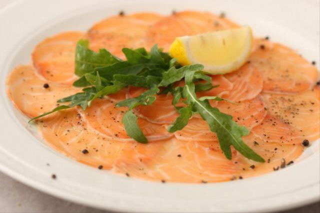 Карпаччо из лосося рецепт