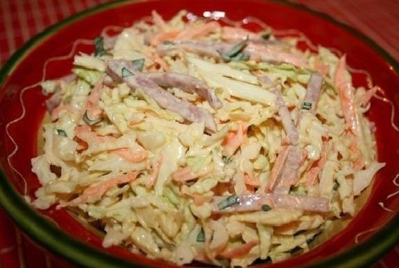Рецепт салатов без мяса быстро