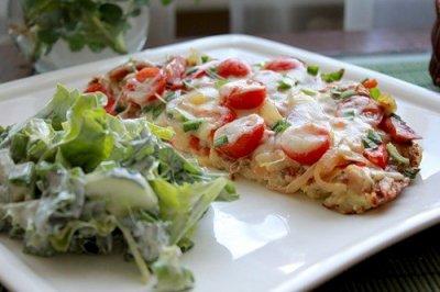 """""""Пицца"""" на сковородке – кулинарный рецепт"""