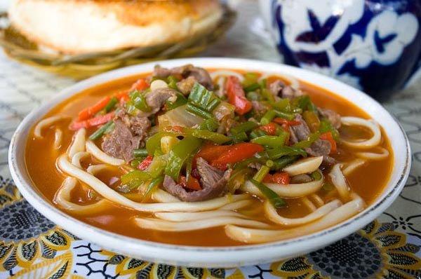 Рецепт узбекского лагмана из