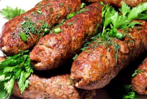 Рецепт домашних колбасок из фарша