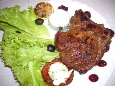 Мясо в белом ажуре – кулинарный рецепт