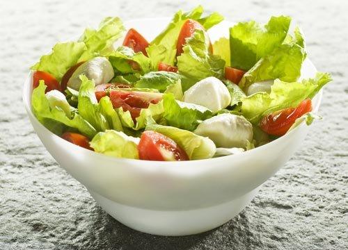 салат -огород из свежих овощей рецепт